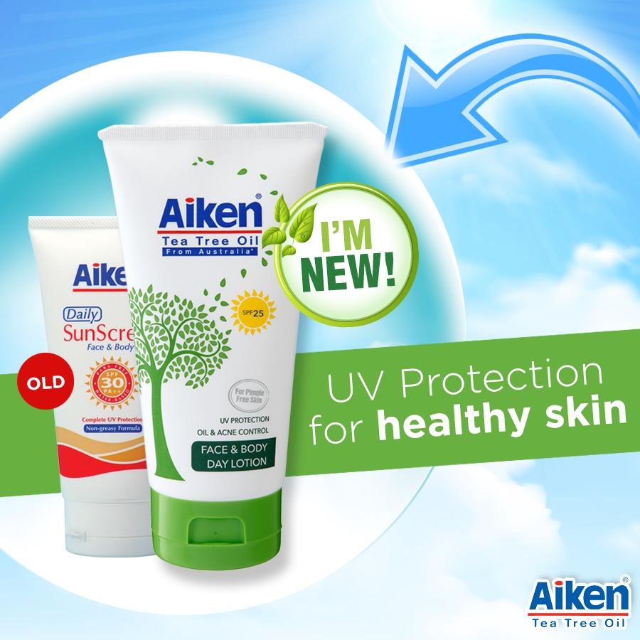 Aiken TTO Face & Body Day Lotion 150g