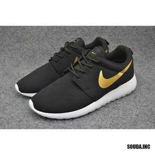 the best attitude 830a8 850b9 Original Nike Men's and Women's Roshe One Running Shoes Black/Gold  1653574463SF.