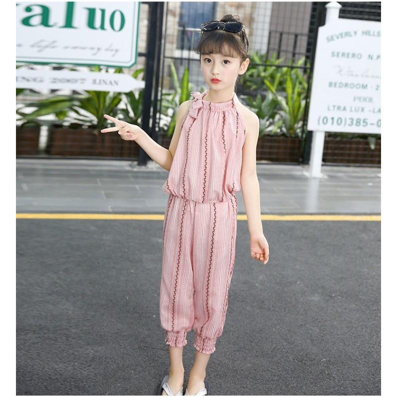 2019 NEW DESIGN | Baby Girl Kids Korean Style 2pc Set Blouse Pants 女童韩版两件套