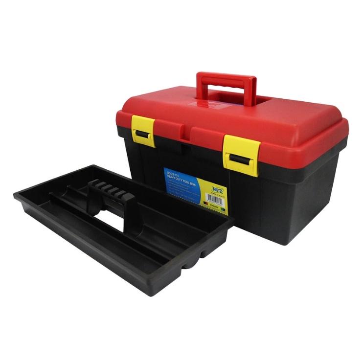 Nietz 505-23-175 Multipurpose Power Tool Storage Box Organizer Retractable Drawers