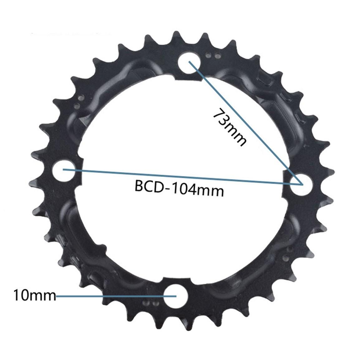 Details about  /8.5mm MTB Chainring Bolt Chainwheel Crew Crank Screws Mountain Bike Accessories