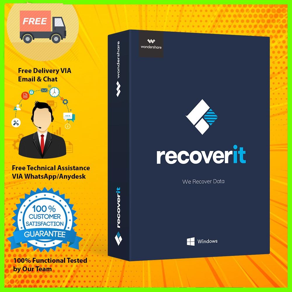 Wondershare Recoverit Photo Recovery 2019 Full Version