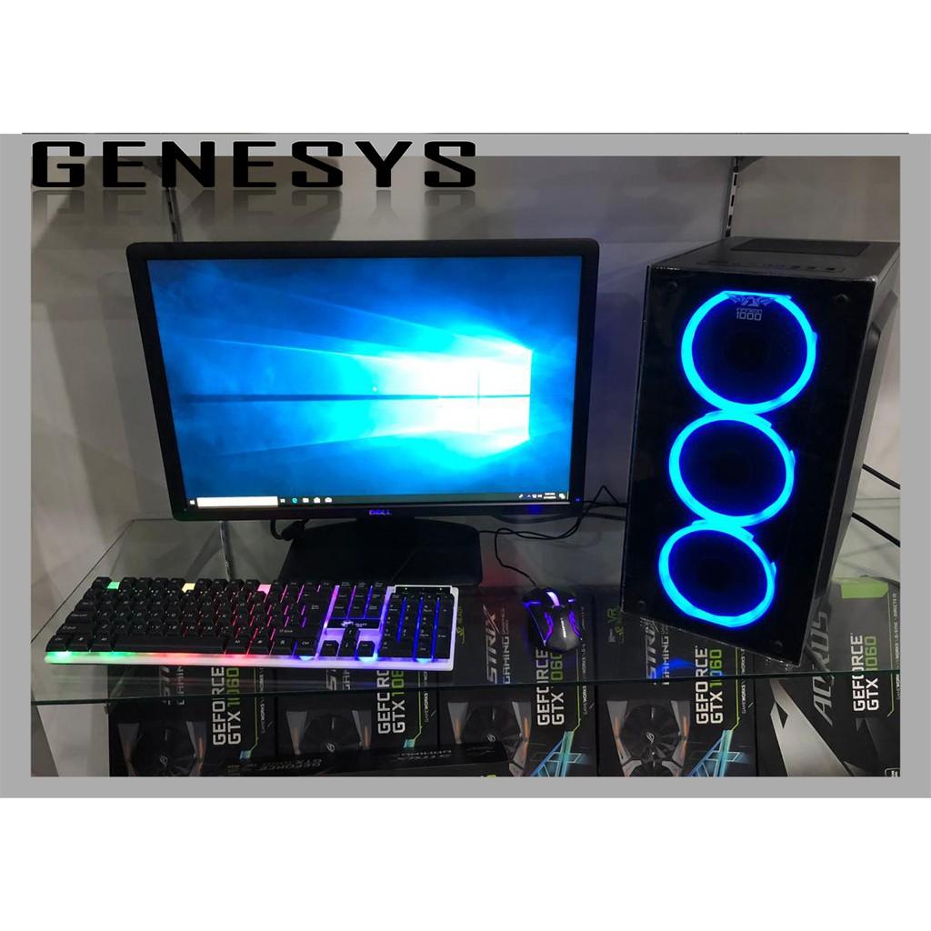 Gaming pc intel i7 i5 RX580 8GB RX570 GTX1650 RX470 DDR5 GTX750TI GTX950  desktop CPU i3 Dell Hp 23