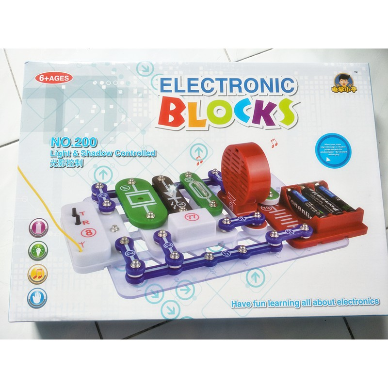 Electronic Blocks - Creative and Fun Learning Way - Electronic Circuits Toys