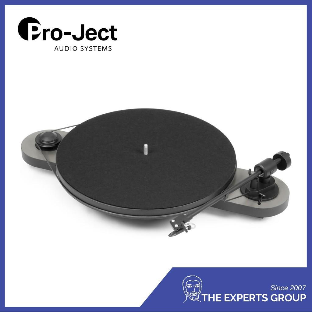 Pro-ject Elemental Phono USB Display Set (Silver-Black)