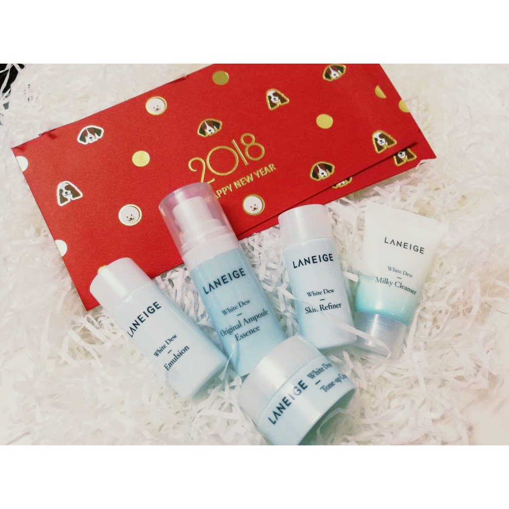 Laneige Water Bank Trial Kit 2017 New Packing Shopee Malaysia Lip Eye Make Up Remover Waterproof Ex 25ml