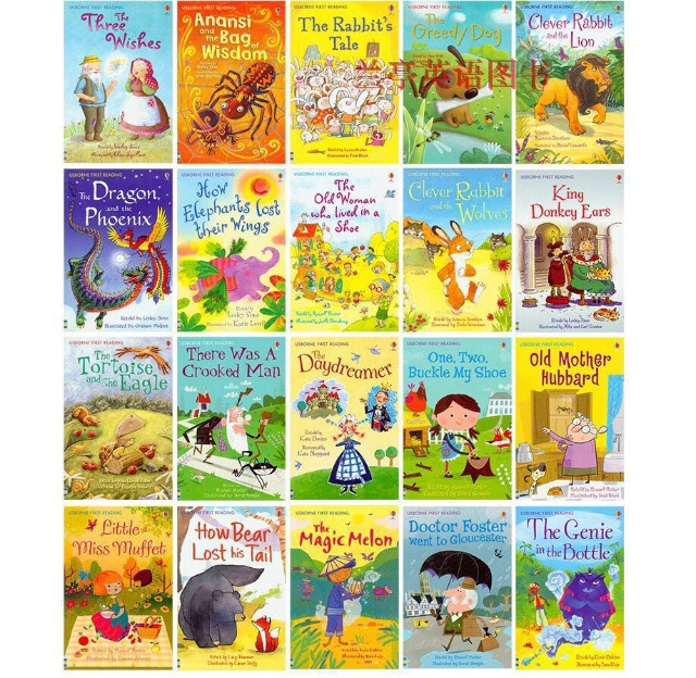 Usborne My first reading library 50books | Shopee Malaysia