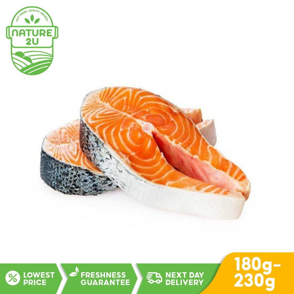 Norway Premium Salmon Steak Slice 180-230gm