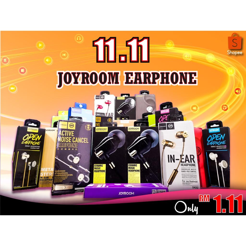 Joyroom Earphones Special price on 11.11 [Random]