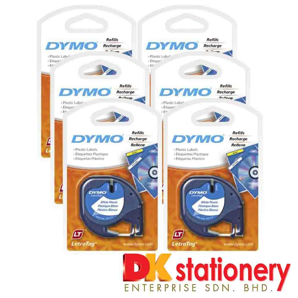 Dymo LetraTag Label Maker Tape Refill 12mm x 4m