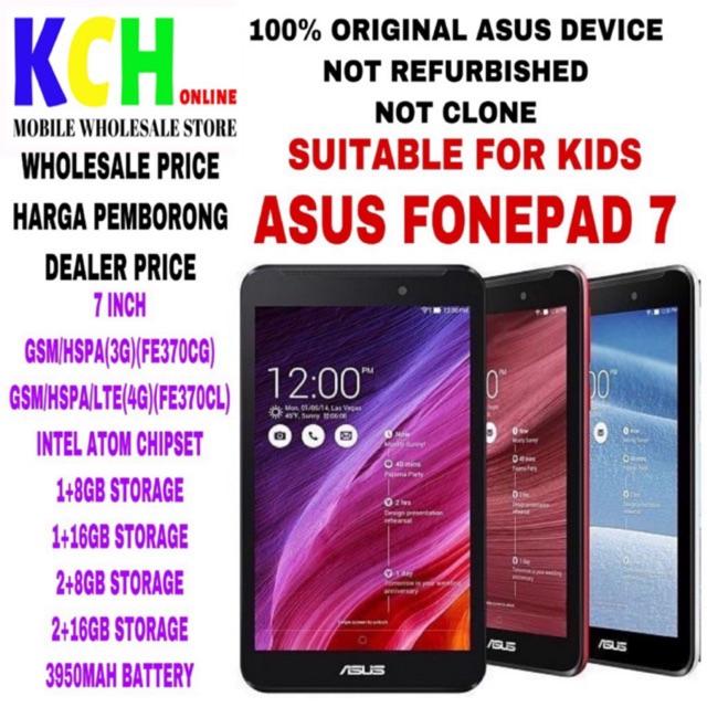 ASUS FONEPAD 7/NEXUS 7(WIFI/3G/4G)(100% ORIGINAL ASUS DEVICE)(USED 90%  CONDITIO