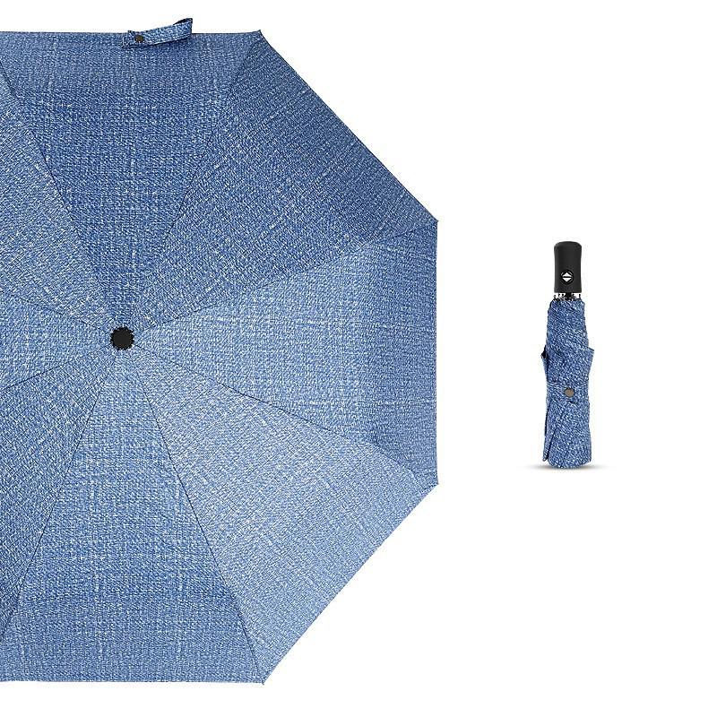 ab1d8a9cab01 4 Colors Auto Compact Folding Rain Windproof Anti UV Automatic Umbrella UNIO