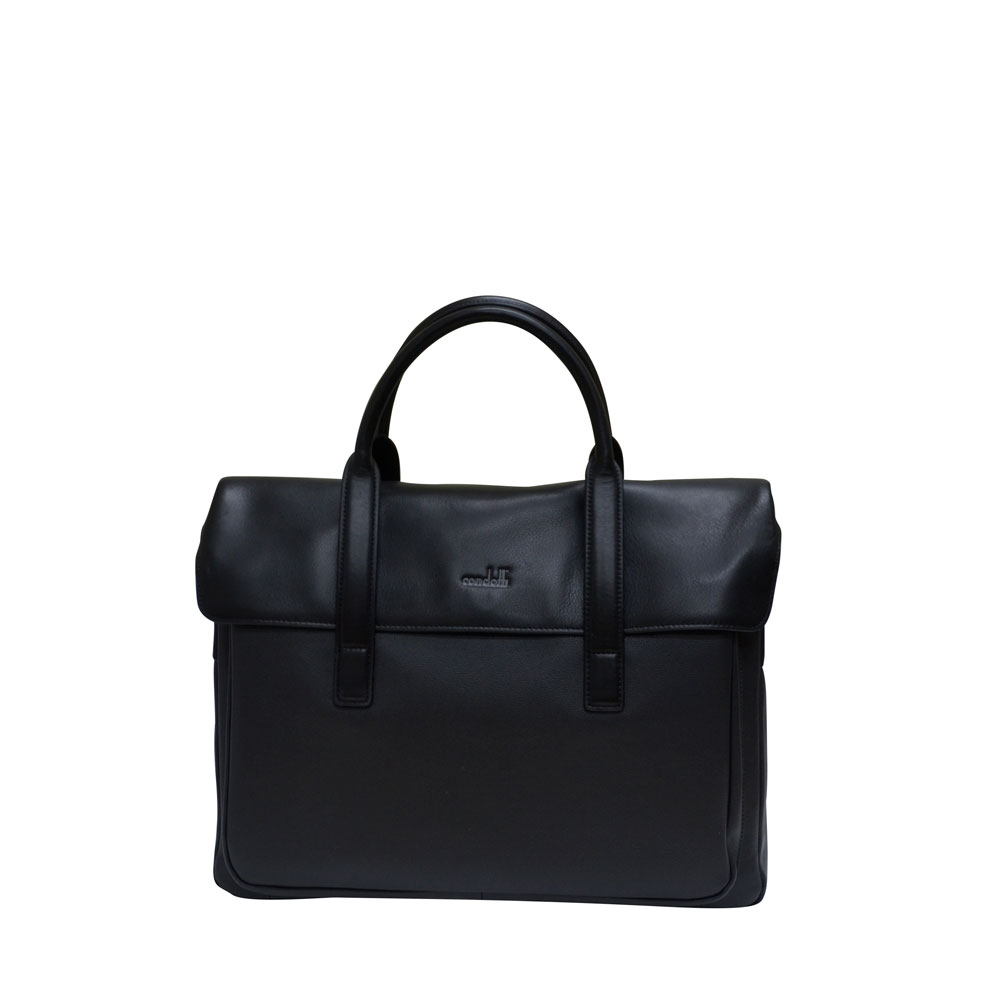 Condotti Leather Brief Case