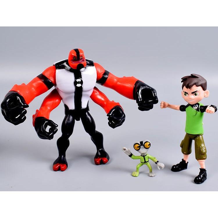 Lot 7 pcs Ben 10 Action Figure Play set Toy Cake Topper XLR8 Heatblast Four Arms