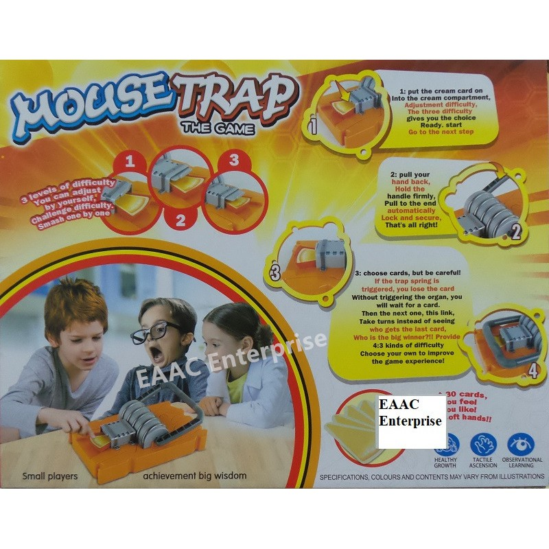 Clearance ! Funny and IQ Game Mouse Trap Game Steal Cheese and Watch out