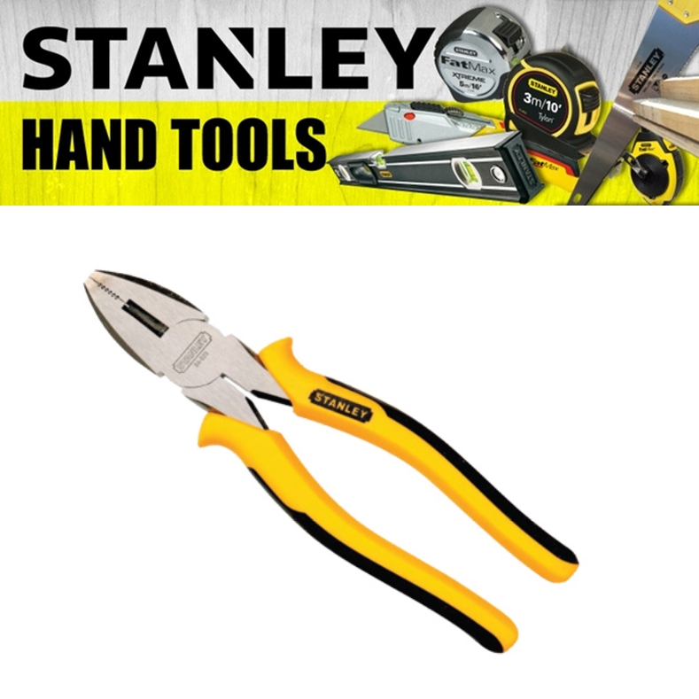 """STANLEY LINESMAN PLIERS 84-623  6"""" HD COMBINATION PLIER - CARBON STEEL POLISHED"""