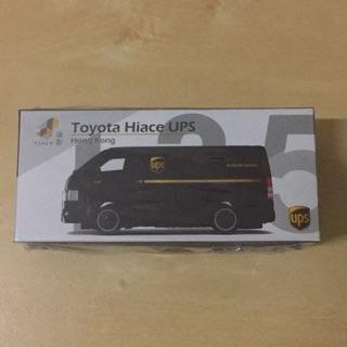 Tiny 1:64 TOYOTA HIACE UPS Sealed box | Shopee Malaysia