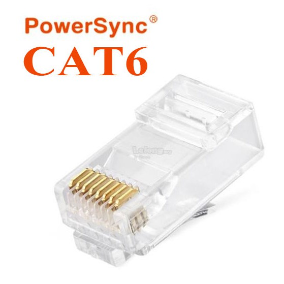 100x Cat5E RJ45 Network LAN Ethernet Plug Connector 2 Prong Stranded Wire Gold
