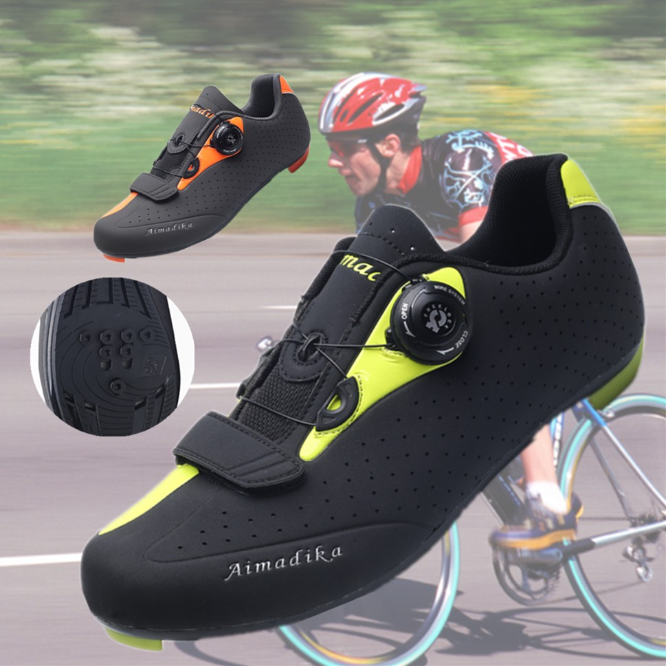 810bfab8df2 RockBros Cycling Road MTB Bike Non-locking Bicycle Shoes Power Lock Shoes