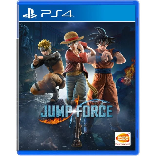 Jump Force PS4 (used like new)