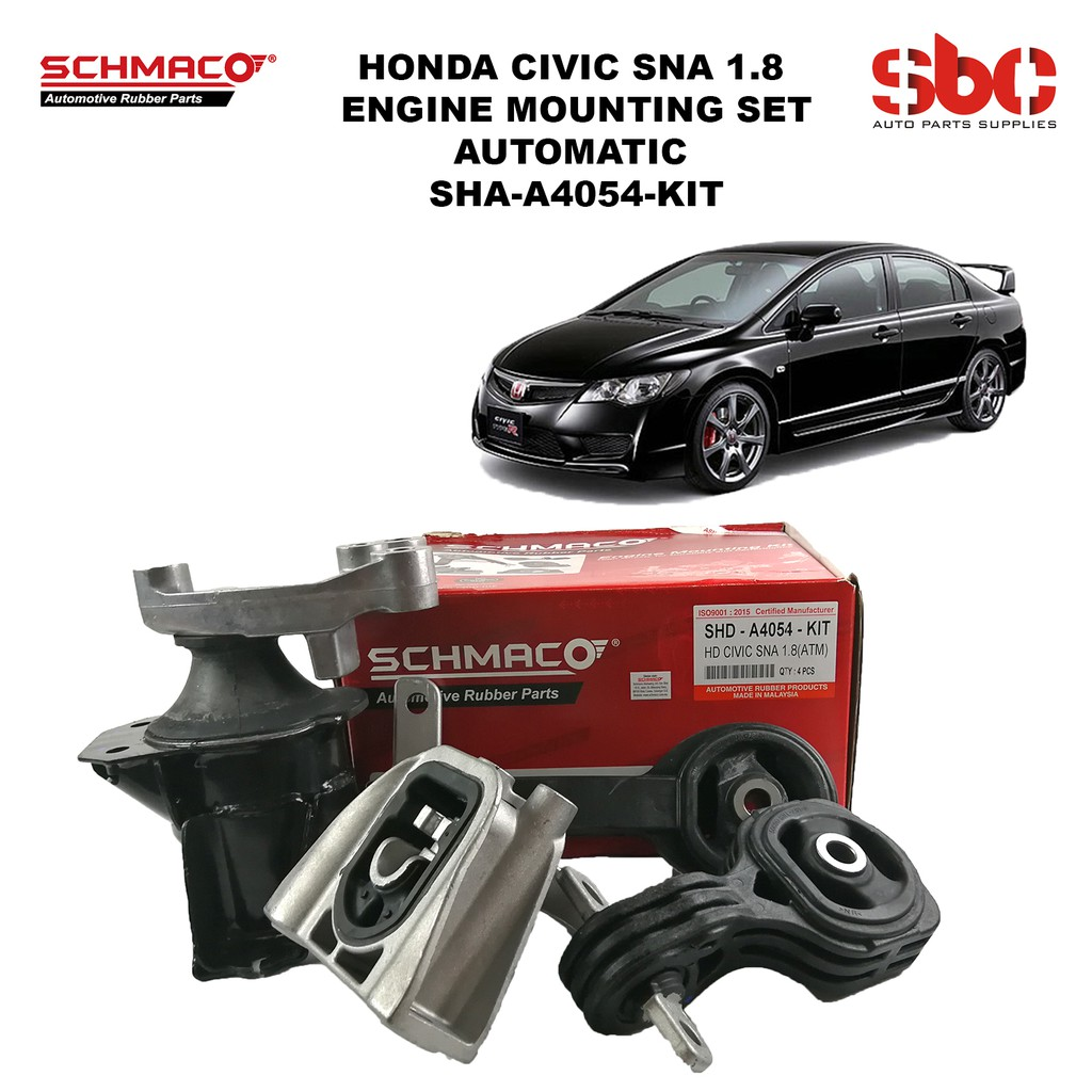 HONDA CIVIC FD SNA 1 8 ENGINE MOUNTING SET