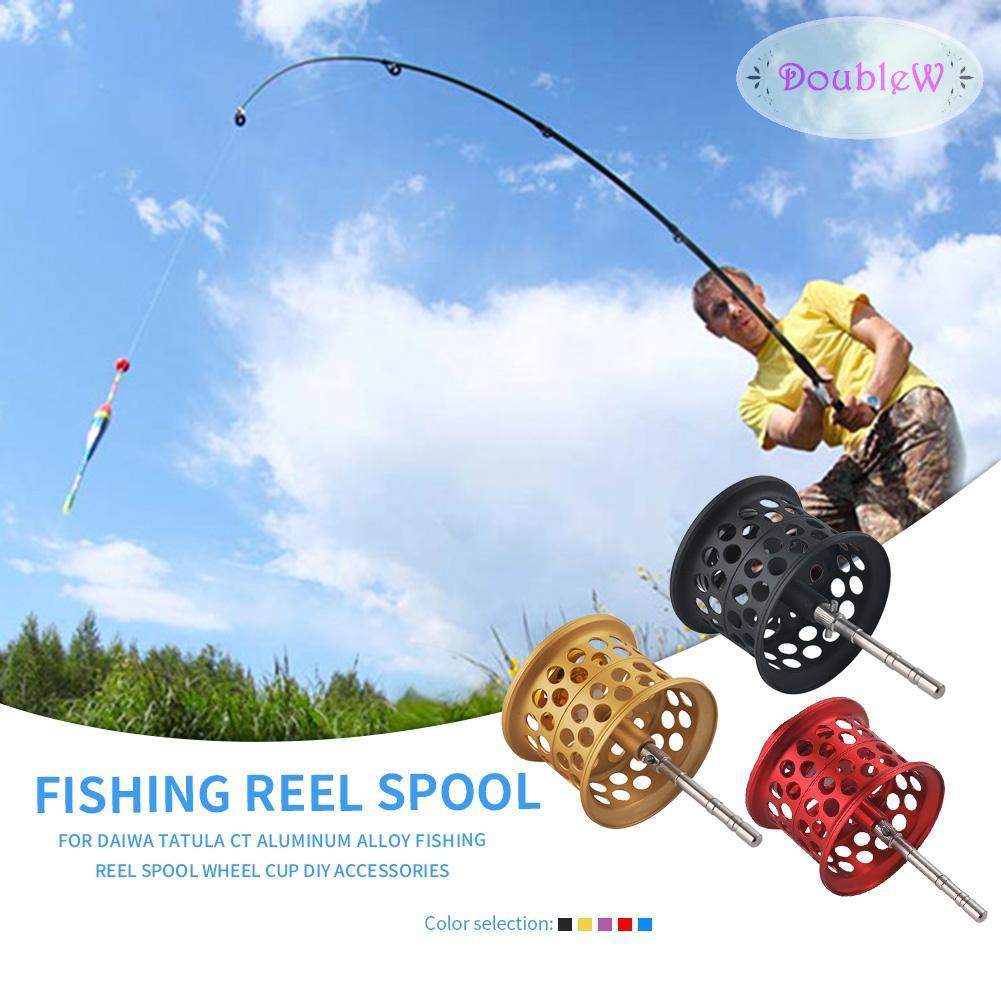 H3E# Fishing Reel Spool Aluminum Alloy Wheel Cup for DAIWA TATULA DIY Accessory