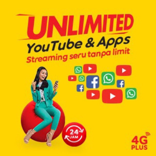 💥EXTRA 30 5GB💥 RAJA VIDEO RM15 UNLIMITED YOUTUBE FB + 2GB