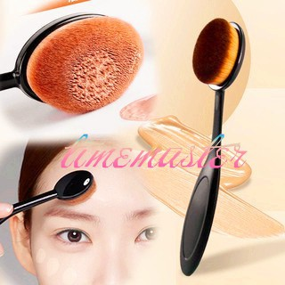 d5cb53fe0786 ✨TMR ✨ Toothbrush Shaped Face Foundation Power Makeup Oval Curve Brush Tool