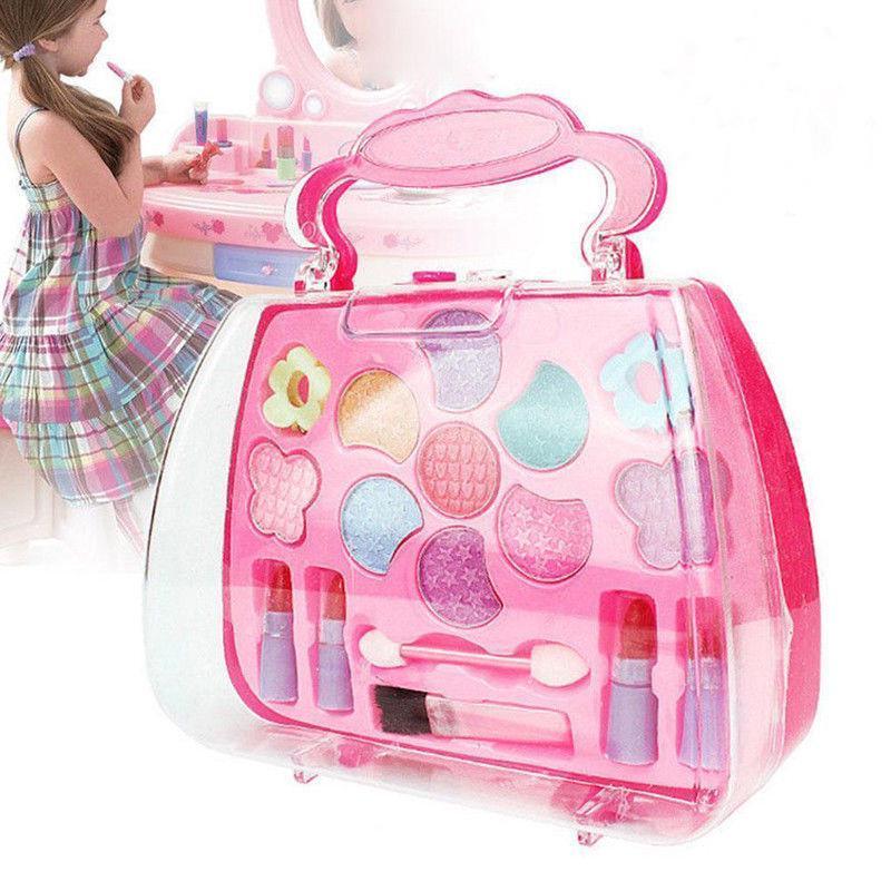 1d71630d83ac Girls Princess Pretend Makeup Set Toys Children Kids Make Up ...