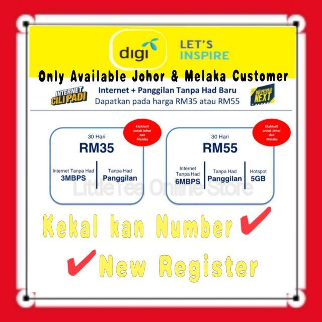 Digi Unlimited Data Unlimited Calls Latest Plan Shopee Malaysia