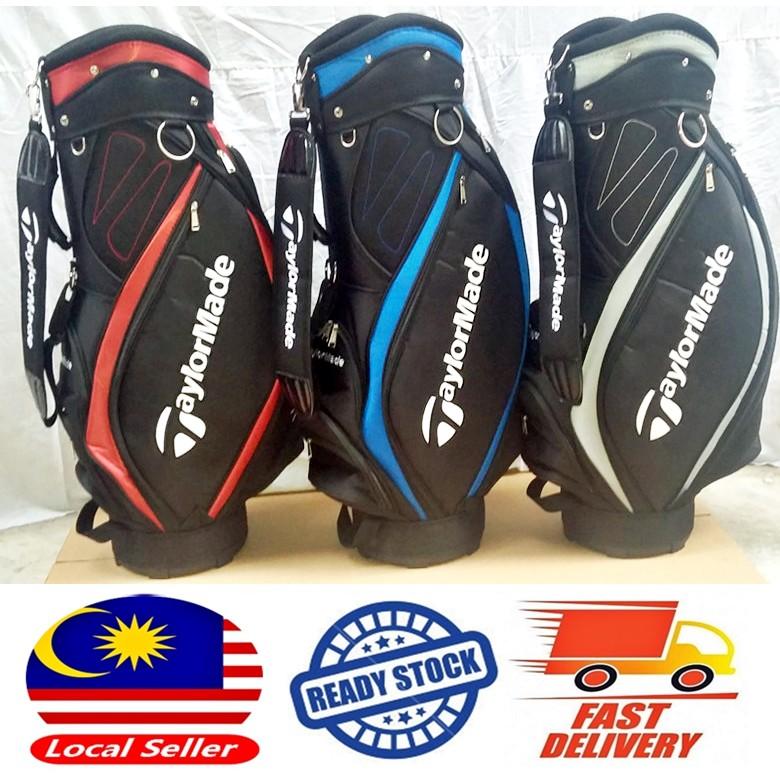 b0e1243b16da Golf Taylormade Cart Bag READY STOCK Canvas Nylon Pro