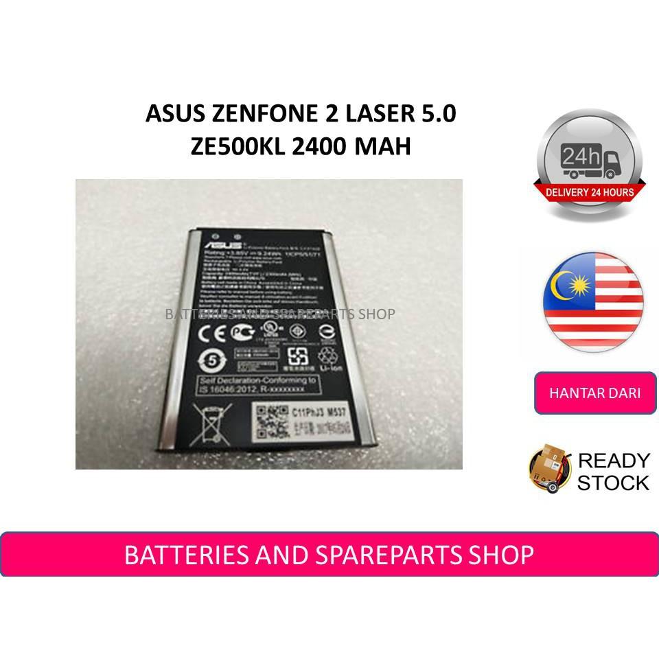 BSS Zenfone 2 Laser 5 0 ZE500KL Z00ED ZE500ML Battery 2400 mAh C11P1428
