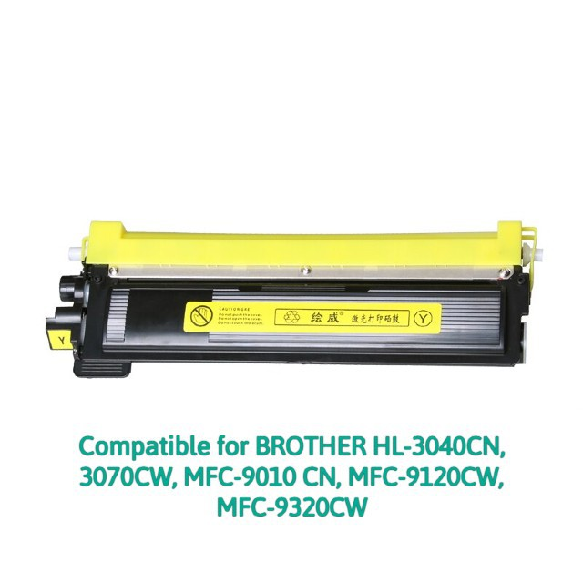 Compatible TN-270 Yellow for BROTHER HL-3040CN, 3070CW, MFC-9010 CN, MFC-9120CW, MFC-9320CW