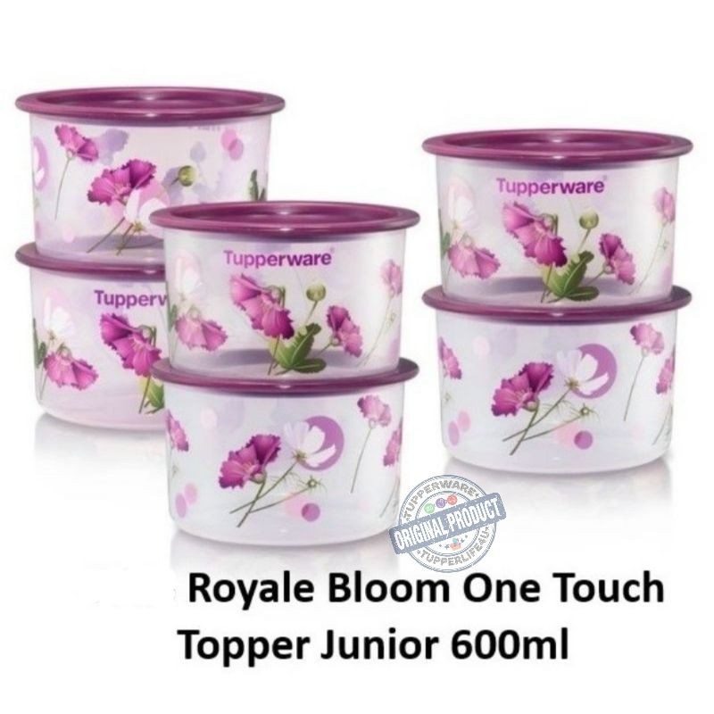 💥Pre order -04/21 cat💥Tupperware Royale Bloom One Touch 600ml