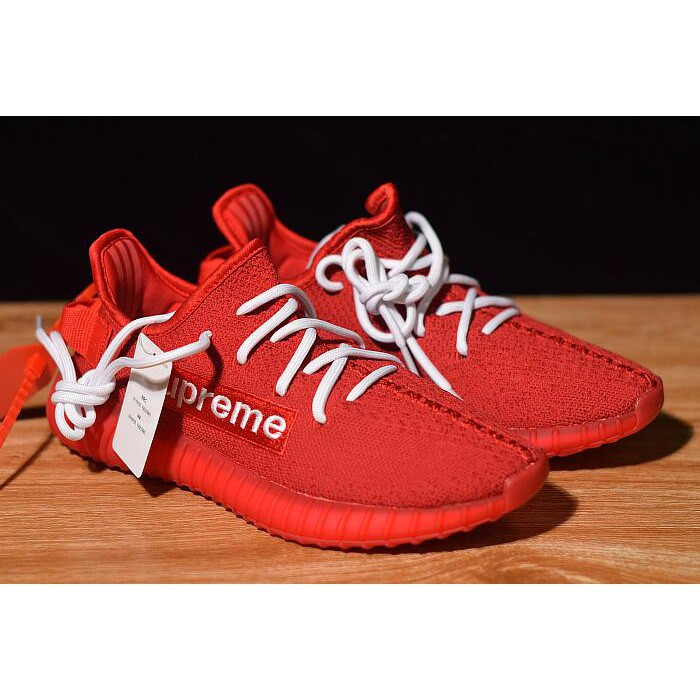 premium selection ef0da f185a Supreme x adidas Yeezy Boost 350 V2 Red/White F36923