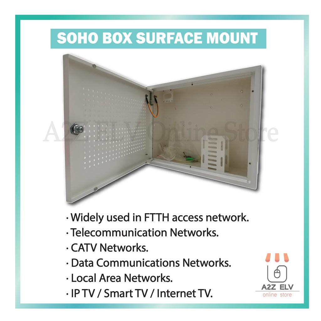 SOHO BOX SURFACE MOUNT (425mm x 325mm x 100mm)