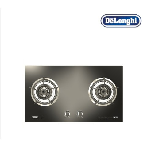 DeLonghi Italy 9.6Kw High Fire Flame Collezione Cucine Glass HOB DG-2073 Built In Glass Cooker