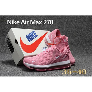 wholesale dealer 95ccb b14c5 authentic Nike Air Max Flair 270 Running Shoes Pink White Women Sneaker  Size 36-4