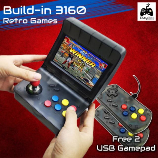 Portable Retro Mini Handheld Game Console(10000++) with 32gb SD card
