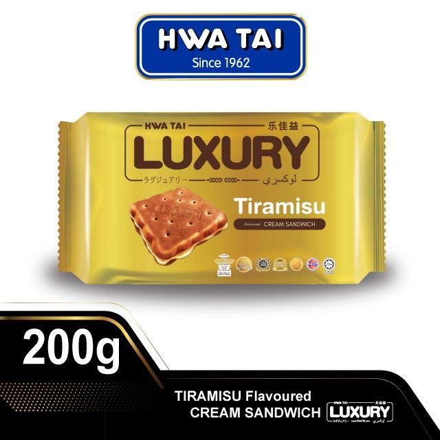 Hwa Tai LUXURY Cream Sandwich - Tiramisu (200g)
