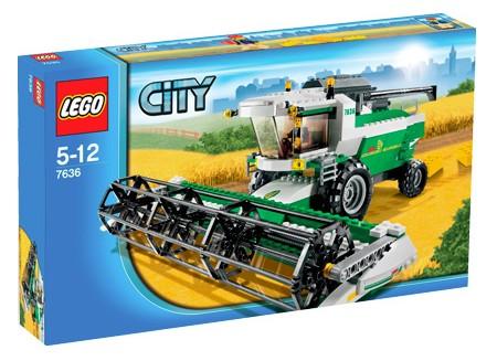 LEGO City 7636 Combine Harvester