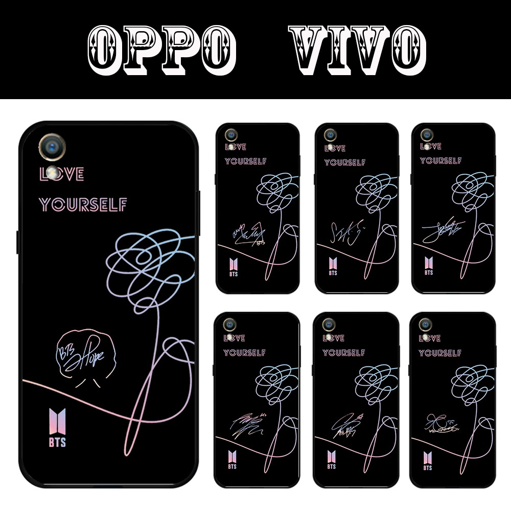BTS phone case for oppo A3S A37 F1S F5 F9 F7 A83