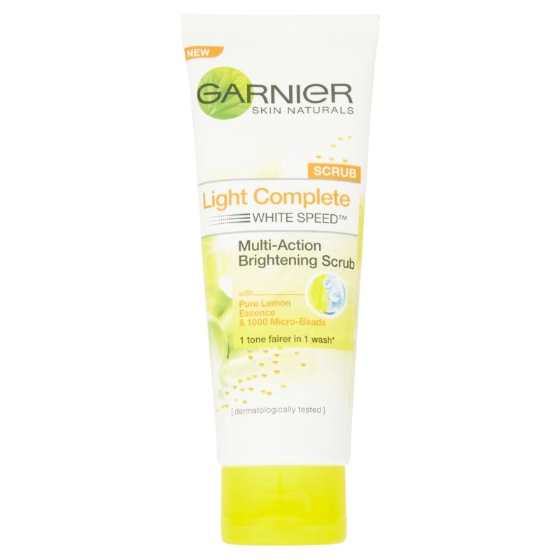 Garnier Skin Naturals Light Complete White Speed Brightening Scrub (100ml)