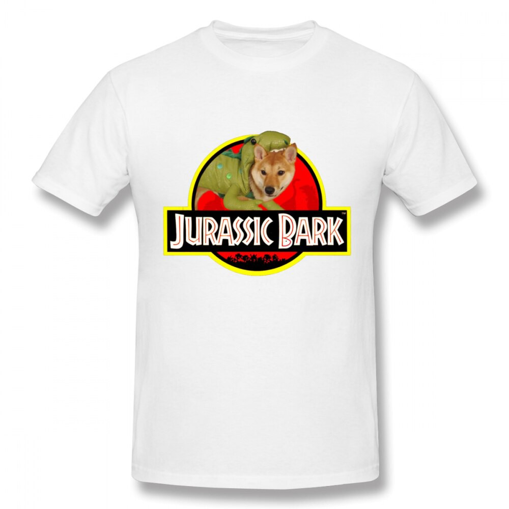 la mejor calidad para precio moderado color rápido Shiba Inu T Shirt Doggo Stickers Jurassic Bark Homme Tee Shirt Us Size  Graphic Custom Camiseta | Shopee Malaysia