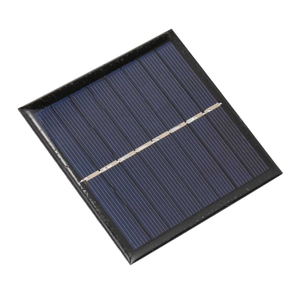 Smart Battery Carger 1W/4V Solar Charger for 1.2V AA Rechargeable Battery Polycrystalline Epoxy Solar Panel (Standard)
