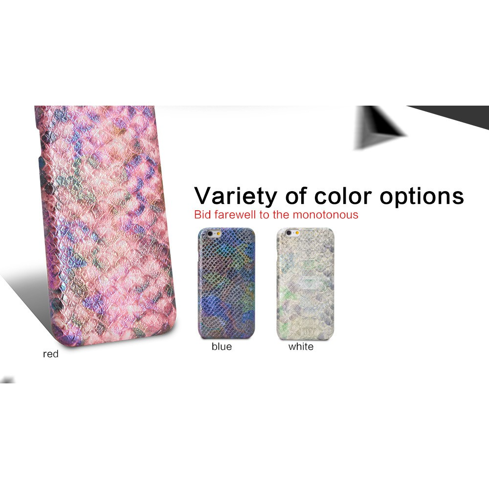 Genuine Leather Python Snake Skin Phone Case Cover For iPhone 6/6s/7/8 plus