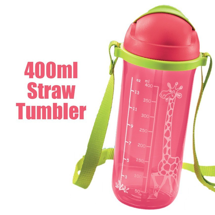 Tupperware Twinkle Straw Tumbler 400ml