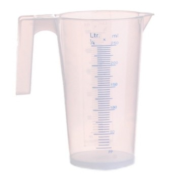 1/4, 1/2 , 1  , 2 , 3, 5 Litre Plastic Measuring Jug/ Transparent Measuring Jug