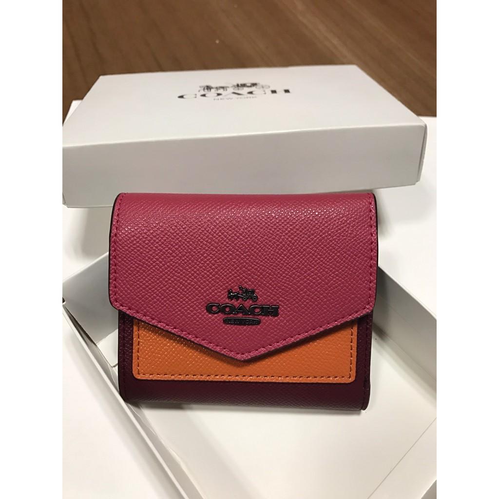 e00ccf8b6 Coach 27252 Women's Folding Wallet   Shopee Malaysia