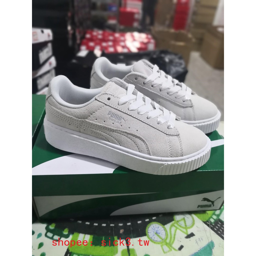 Puma Platform Galaxy Wn's casual shoes thick soles shoes
